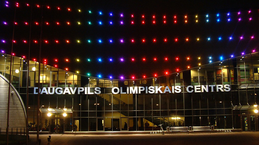 Daugavpils Olympic center Multihalle