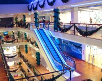 Световое оформление ТЦ Galleria Riga