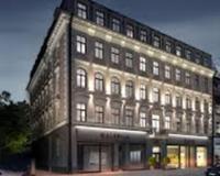 Подсветка фасада здания на улице Элизабетес, 18