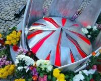 Подсветка памятника Норе Бумбиере