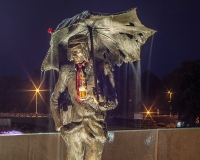Памятник студенту в Елгаве